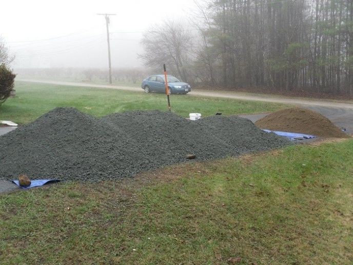 What does tons of gravel look like