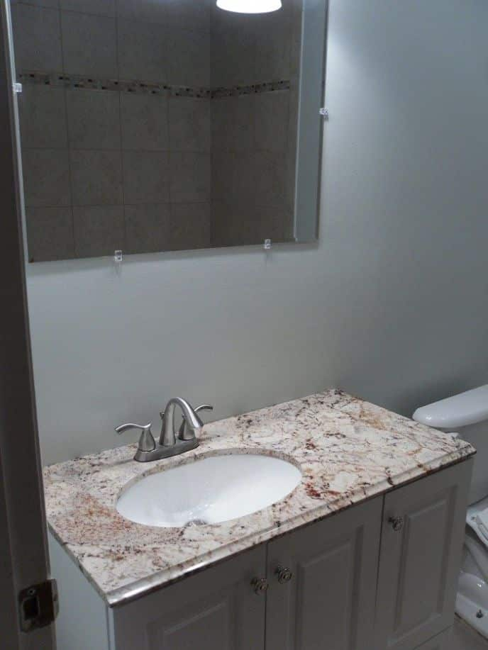 We Remodeled Our Bathroom Check it out…
