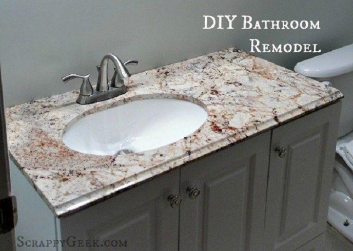 Bathroom Remodel – 1950's GONE!