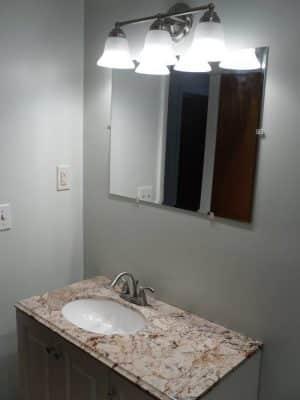 DIY Vanity Installation