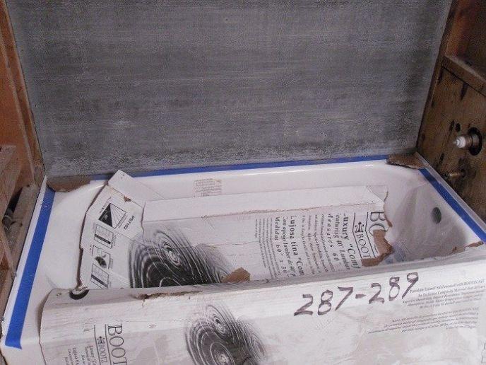 Protecting Bathtub During Constrution