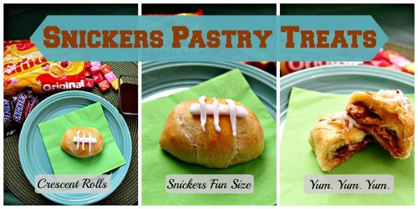 Snickers Pastery Treats #BigGameTreats #Ad #Shop