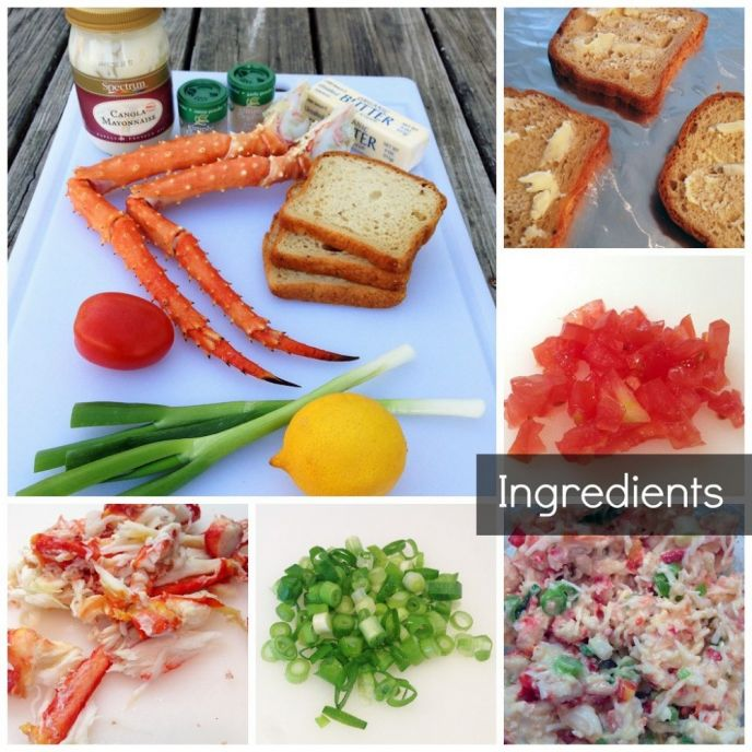 Classic Crab Roll Sandwich Recipe