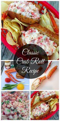 Classic Crab Roll Recipe