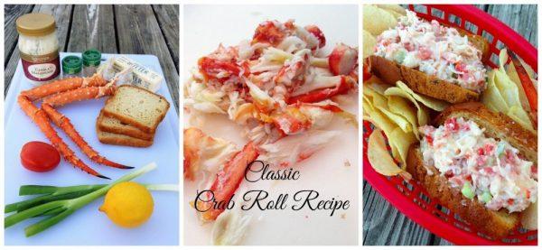 Easy, Classic Crab Roll Recipe