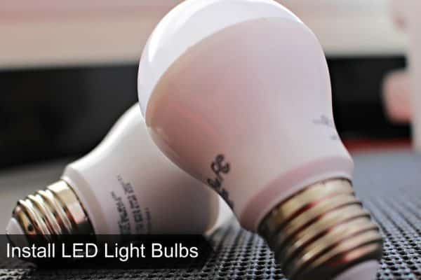 DIY Eco-Friendly LED Light Bulbs