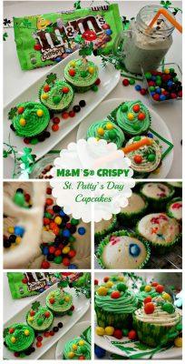 M&M's® Crispy Cupcake Recipe #CrispyIsBack #ad #Cbias