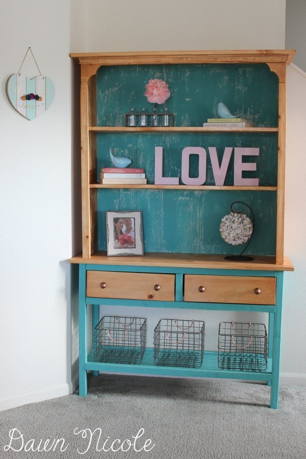DIY Hutch and Console
