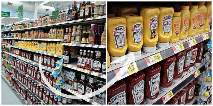 Heinz Mustard at Walmart
