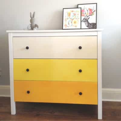 How To IKEA Dresser Hack and Makeover