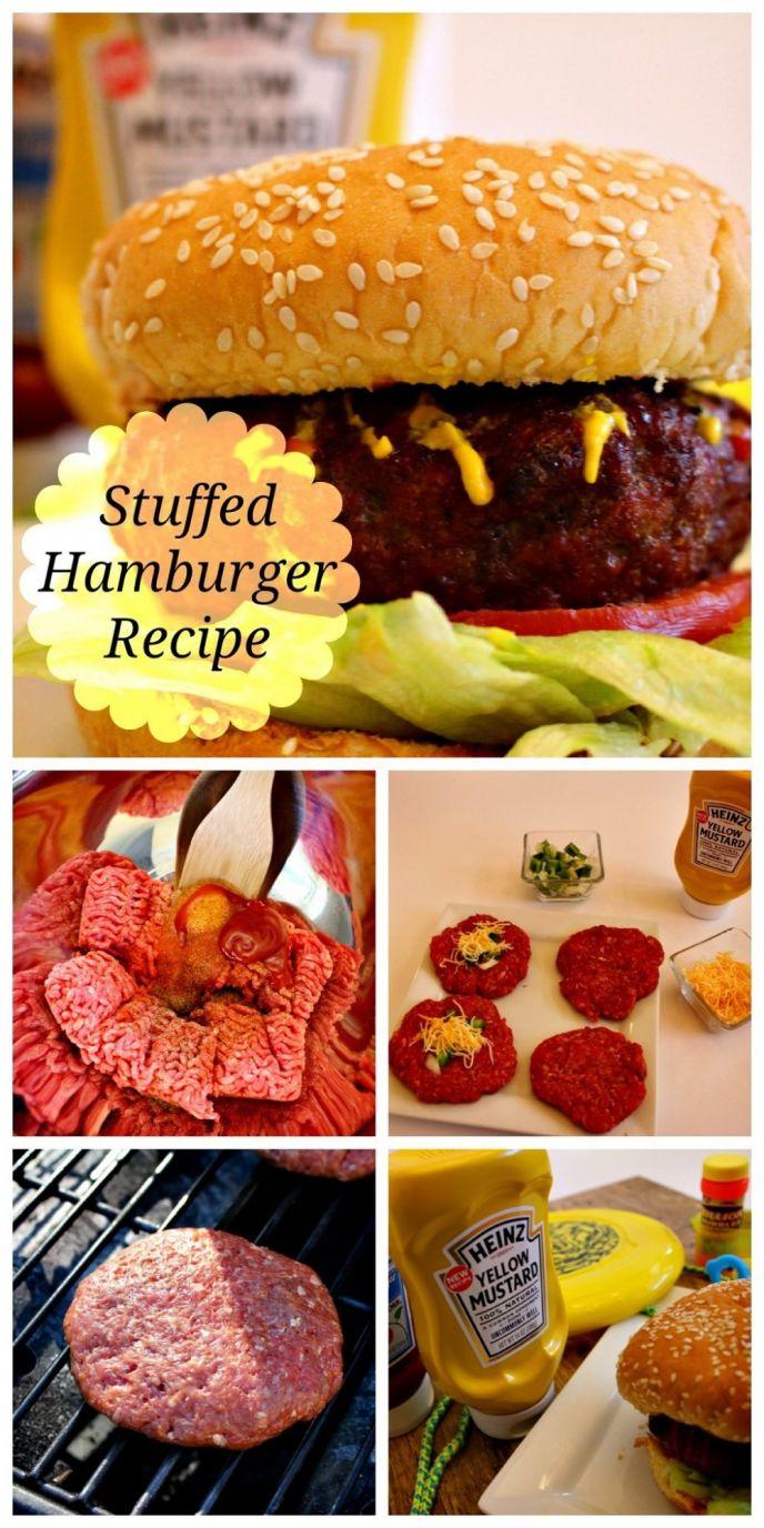 The Best Stuffed Hamburger Recipe
