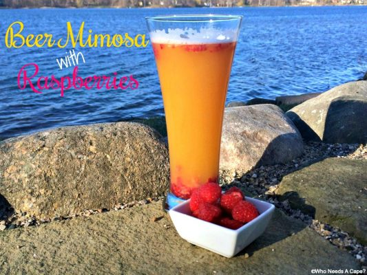 Beer and Raspberry Mimosa Recipe