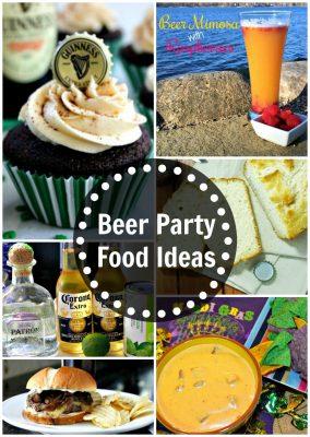 Beer Party Food Idea Recipes
