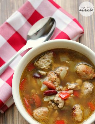 Beer Chicken and Sausage Soup