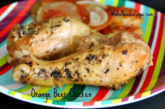 Orange Chicken Beer Recipe