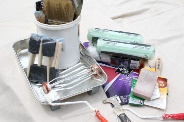 Paint Brushes, Rollers and Supplies