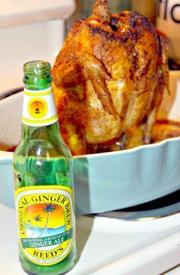 Ginger Beer Roasted Chicken Recipe