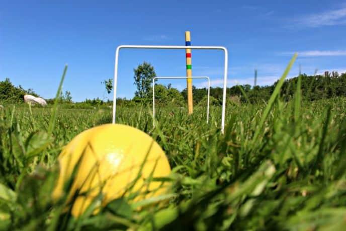 Classic Croquet Backyard Game