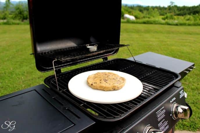 Baking a Cookie on a Pizza Stone