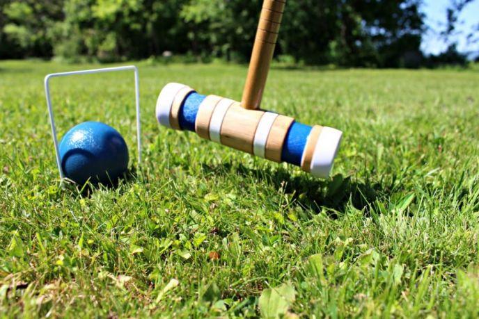 Croquet, A Fun Backyard Game