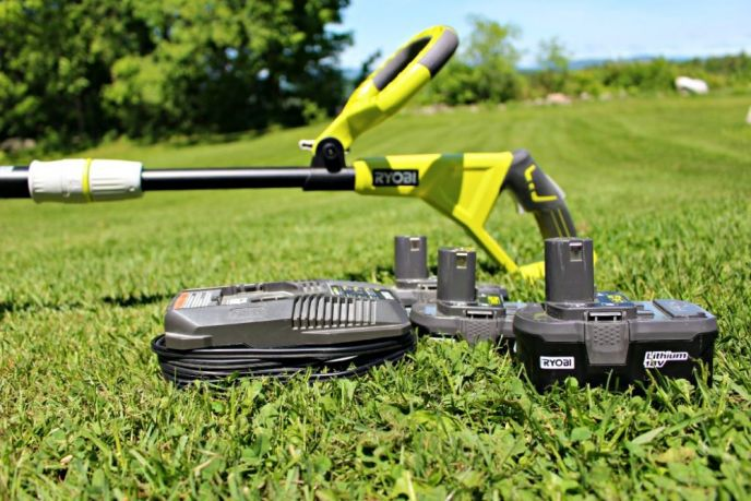 Ryobi One Weed Trimmer Battery