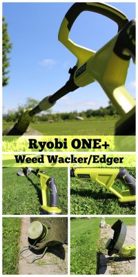 Ryobi ONE Weed Trimmer and Edger