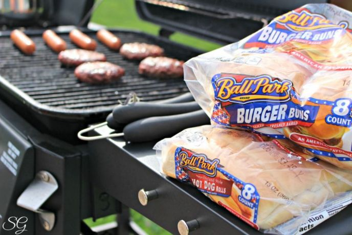Certified Angus Beef and Ball Park Franks on the Grill