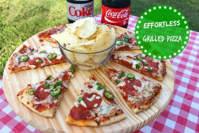 Effortless Grilled Pizza: No Recipe Required!