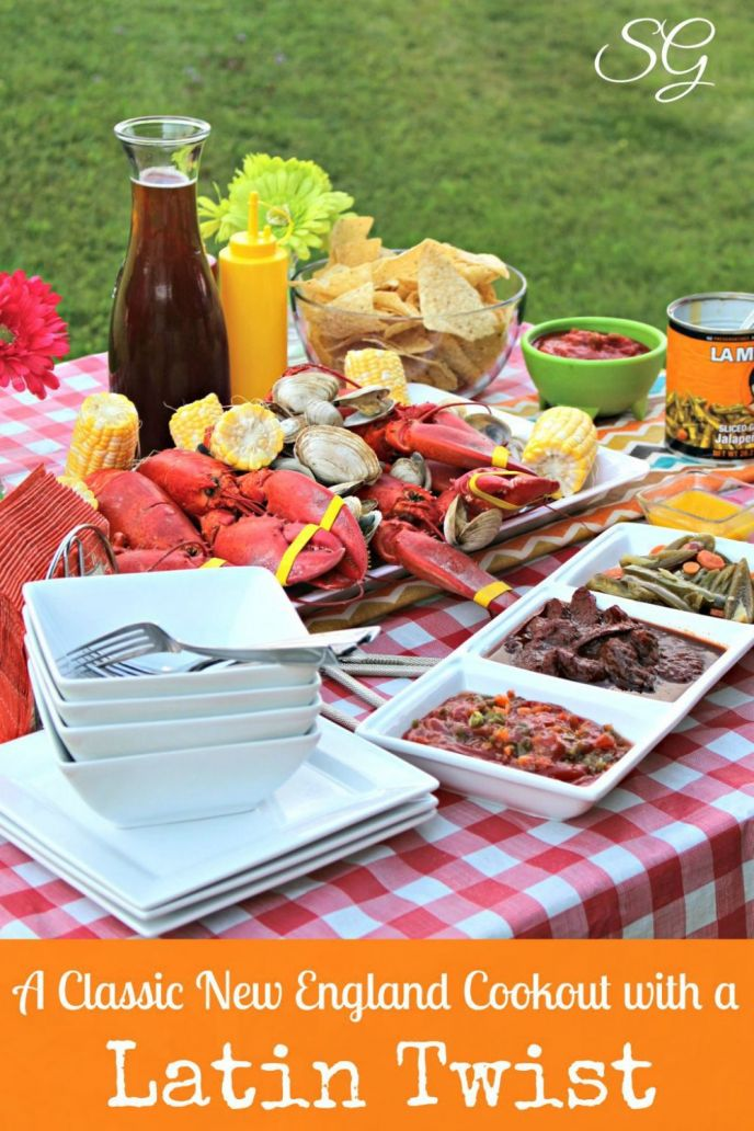 New England Cookout with Maine Lobsters, Steamers and Red Snapper Hot Dogs