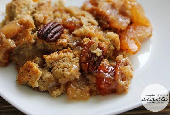Easy Fall Apple Dump Cake