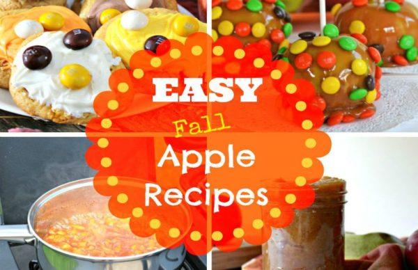 Easy Fall Apple Recipes