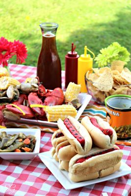 A New England Cookout with a Latin Twist