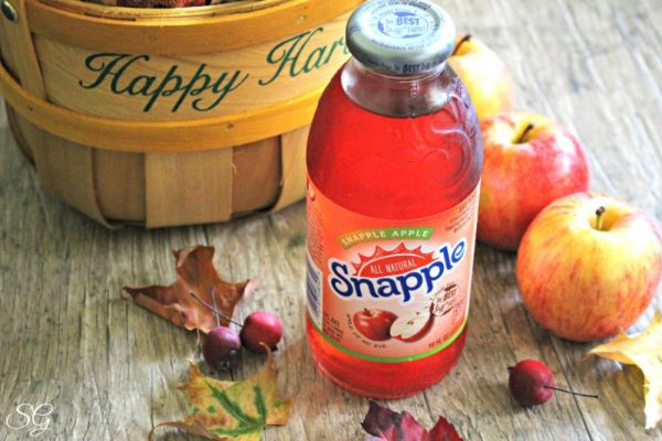Snapple Apple and Cookies