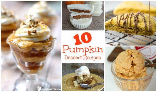 Simple Pumpkin Dessert Recipes