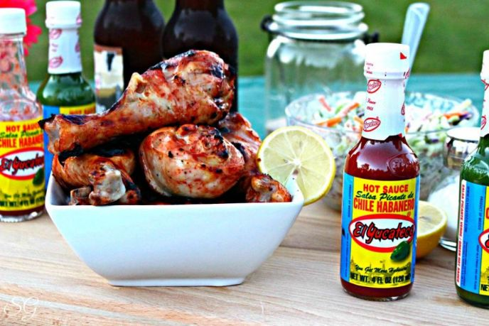 BBQ Chicken with Hot Sauce Recipe