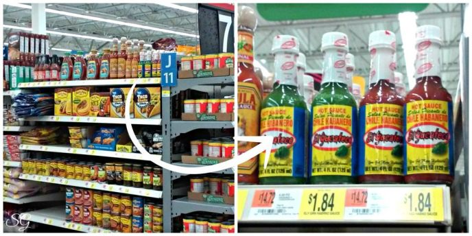 El Yucateco Hot Sauce at Walmart