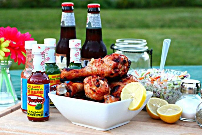 Fiery Hot Chicken Drumsticks Recipe