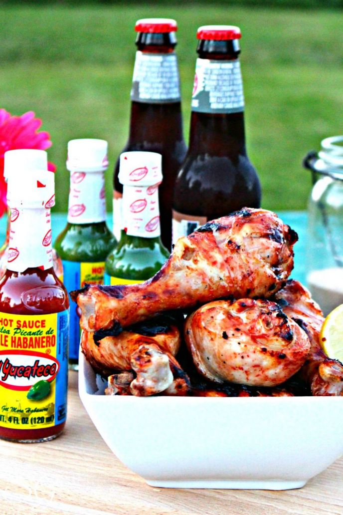 Hot BBQ Chicken Drumsticks
