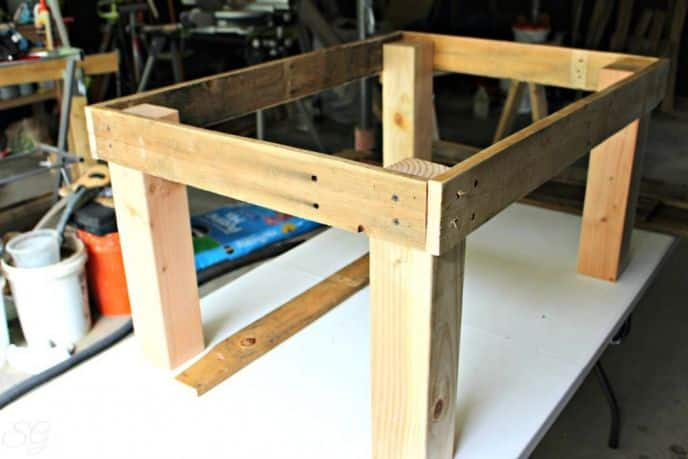 Upcycled Palllet Wood Coffee Table