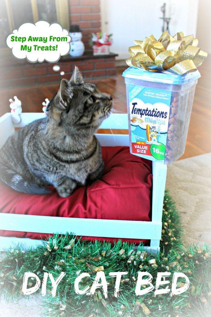 DIY Crate Cat Bed Tutorial
