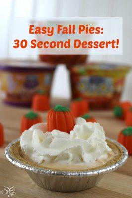 Easy Fall Pie Desserts