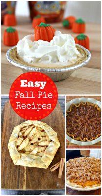 Easy Fall Pie Recipes