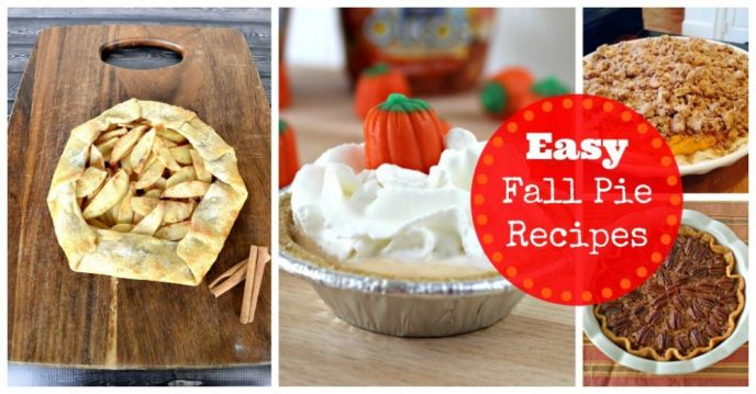 Easy Fall Pie Recipes