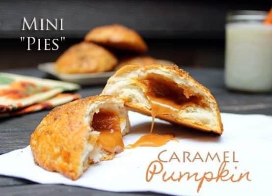 Single Serve Caramel Pumpkin Pies