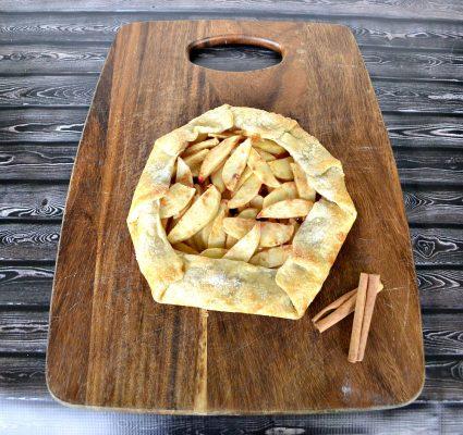 Rustic Fall Apple Pie Recipe