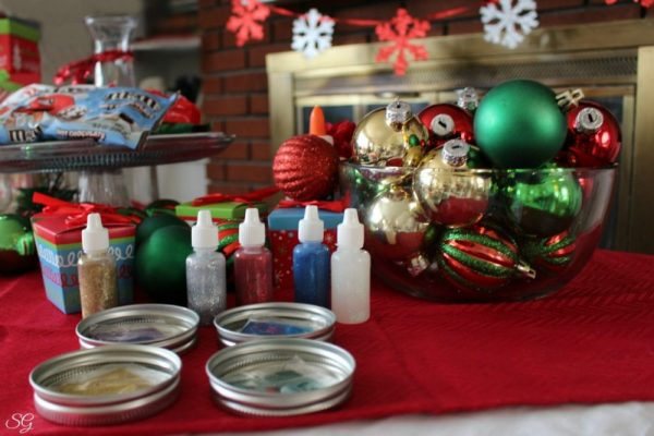 Deck the Halls Christmas Party Ornament Decorating