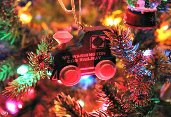 Mt. Washington Cog Railway Christmas Ornament