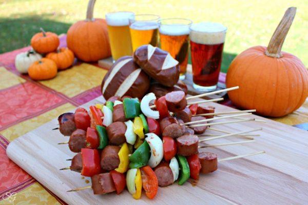 Oktoberfest Kebabs and Beer Tasting