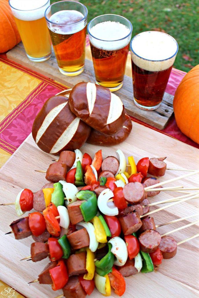 Oktoberfest Beer Tasting and Kebabs