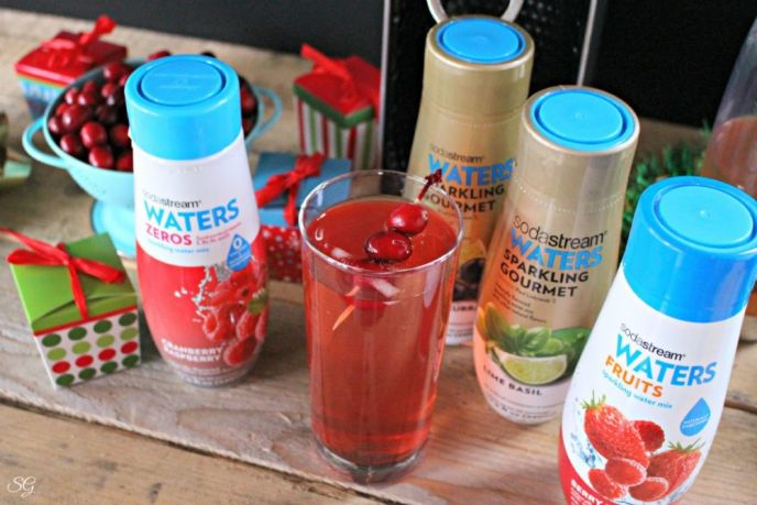 Alcoholic Drink made with SodaStream Sparkling Waters